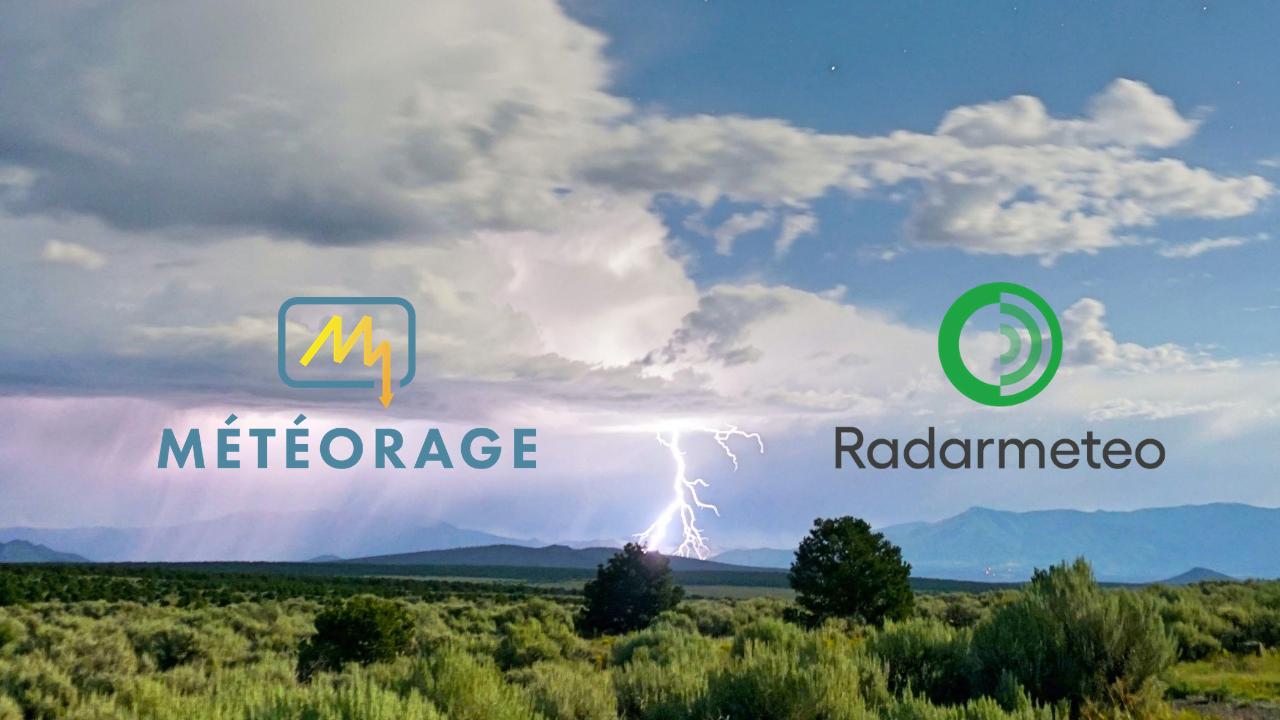 Météorage e RadarMeteo: una partnership per la diffusione dei servizi di monitoraggio dei fulmini e dei temporali nel mercato italiano