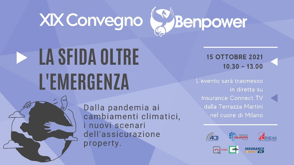 La sfida oltre l'emergenza – XIX Convegno Benpower